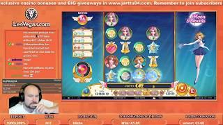 Big Bet!! Two Big Win Bonuses From Moon Princess!!
