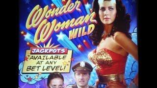 Bally - Wonder Woman Wild : Bonus and Line Hit on a $1.00 bet Eps: 1