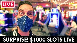 ★ Slots ★ SURPRISE LIVE! ★ Slots ★ $1000 Casino Slots at Gila River Lone Butte