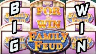 HUGE WIN - FAMILY FEUD SLOT BONUS! I Am Still the Champ of the FEUD!