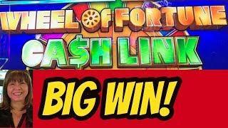 BIG WIN! MAX BET- WHEEL OF FORTUNE CASH LINK