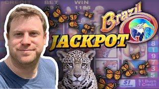 ⋆ Slots ⋆ 20 Line Brazil Bonus Jackpot ⋆ Slots ⋆ Rare $10 Max Bet Jackpot Live from Las Vegas!