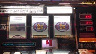 Let's increase $100•Big Win Double 3x4x5 Dollars Slot Machine Bet $3, San Manuel Casino, Akafujislot