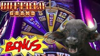 Buffalo Grand max bet $3.75 with BONUS and FREE SPINS! Live Play Slot Machine • Spinning In Vegas