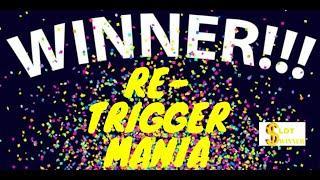 •️•️HUGE RE-TRIGGERS in the BONUS•️•️