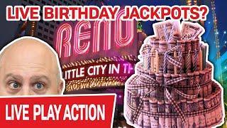 ★ Slots ★ MORE High-Limit Slots LIVE in RENO! ★ Slots ★ BIRTHDAY JACKPOTS @ Atlantis?