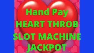 HUGE Hand Pay Casino Win! Help out the channel! Heart Throb Slot Machine
