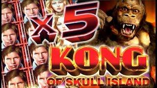 •KING KONG WIN!• KONG OF SKULL ISLAND Slot Machine Bonus (AINSWORTH) REPOST