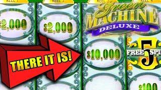 GREEN MACHINE DELUXE ★ Slots ★ MASSIVE JACKPOT & BETS ★ Slots ★ HIGH LIMIT SLOTS