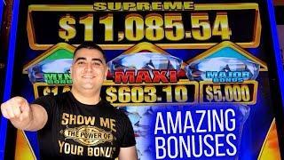 High Limit Diamond Trails Slot BONUSES WON ! $1,000 Challenge To Beat The Casino | EP-20