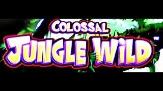 WMS - Colossal Jungle Wild : ( Life of Luxury Progressive ) - on Minimum Bet
