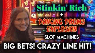 $10/Spin on Dancing Drums Explosion! HUGE HIT!!