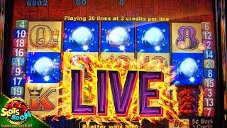 Tiki Torch HUGE BONUSES!!! Aristocrat Slots in Morongo Casino