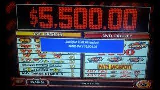 QuickHits $5,500.00 Jackpot @Bellagio