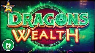 •️ New - Dragons Wealth slot machine, wheel spins