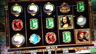 Double Davinci Diamonds slot machine Aria Las Vegas