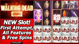 The Walking Dead 3 Slot - New Slot, All Features: Walker Drop, Rise Up, Jackpot Bonus and Free Games