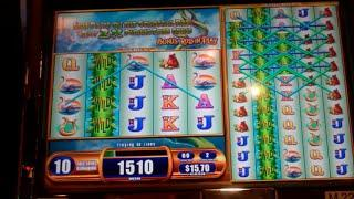 Giant's Gold Slot Machine Bonus - Colossal Reels Feature - 31 Free Spins, Nice Win