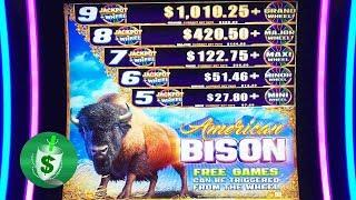 ++NEW American Bison slot machine