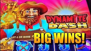 ALL ABOARD: DYNAMITE DASH BIG WINS, GREAT COMEBACK!