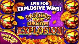 Major Jackpot in Dancing Drums Explosion!    Jackpot Party Casino