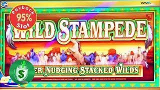 Wild Stampede 95% slot machine