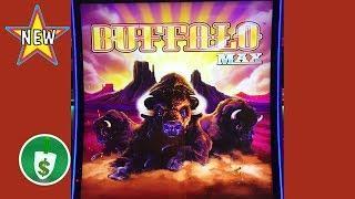 •️ NEW - Buffalo Max slot machine, just grazing