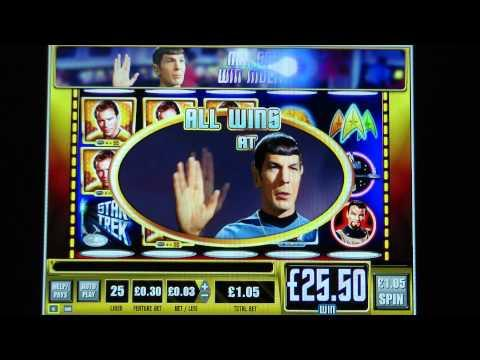 star trek slot machine big win