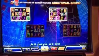 Spider-Man Bonus On 40 Cent Bet