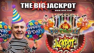 RAJA'S PRE-BIRTHDAY WIN$ •Fu Doa Le! • 8 FREE GAME$ • BONUS ROUND JACKPOT!