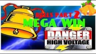 DANGER HIGH VOLTAGE (BIG TIME GAMING) **MEGA BIG WIN** JINGLE THE BELLS PART 2