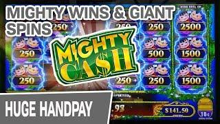 ⋆ Slots ⋆ MIGHTY CASH MAX BETS Bring a MIGHTY HANDPAY ⋆ Slots ⋆ High-Limit Slots & GIANT Spins