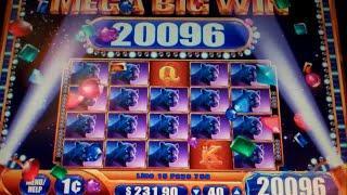 Mystical Worlds Slot Machine Bonus + MEGA BIG Line Hit - 10 Free Games Win with Stacked Wilds