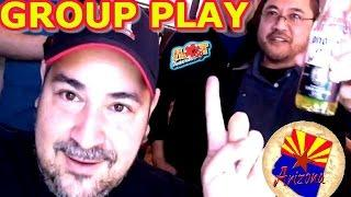 • FIRST ARIZONA SLOT MACHINE GROUP PULL • HIGH LIMIT & MAX BET AT WILD HORSE