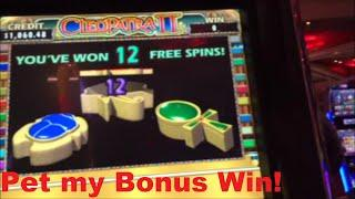 Cleopatra A slot Machine WIn