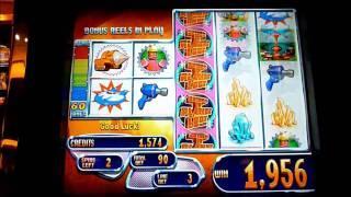 Return to Planet Loot Slot Machine Bonus Win (queenslots)