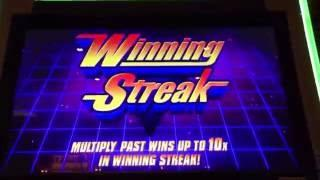 SG/WMS JUNGLE WILD WINNING STREAK! Bonus & Winning Streak Hit!