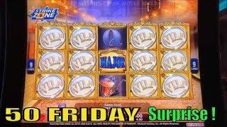 •Surprise !•50 FRIDAY 39•Fun Real Slot Live Play•The Voice/007 Thunderball/Agent Magnifying Jackpot•