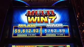 Big Win Grand Dragon $10 High Limit Free spin bonus Ainsworth Slot machine Pokie