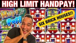 ⋆ Slots ⋆ $25 BIG BET Huff N' Puff Jackpot Handpay!! | Big Bang Theory ⋆ Slots ⋆ | Dragon Link PROFI