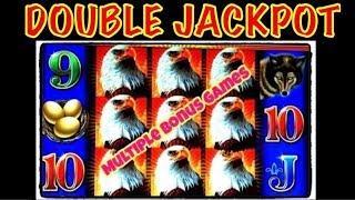 • DOUBLE JACKPOT • EAGLE • BUCKS • MONEY • BLAST • LOTUS • FLOWER • HIGH LIMIT SLOT MACHINE #TBT