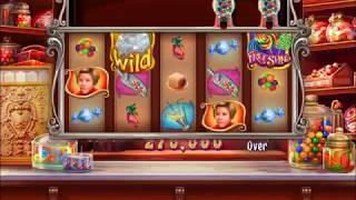 WILLY WONKA:  CANDY MAN CAN Video Slot Casino Game with a FREE SPIN BONUS