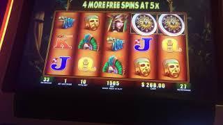$4600 HUGE JACKOPOT on Montezuma MEGA HANDPAY