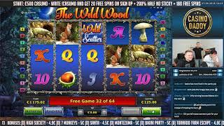 The wild woods BIG WIN!!! - Casino - Online Slots
