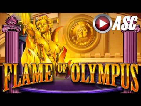 FLAME OF OLYMPUS | NICE Win! Slot Machine Bonus (Aristocrat)