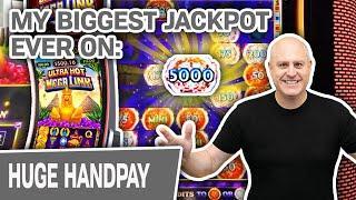 ⋆ Slots ⋆ My HUGEST HANDPAY IN HISTORY on Ultra Hot Mega Link: Egypt ⋆ Slots ⋆ BOOM in Las Vegas!