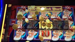 Slot Machine Bonus & Line Hit Compilation #10 - Ultimate Fire Link, Willy Wonka, Wild Americoins ++