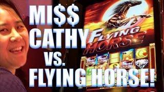 MISS CATHY VS. FLYING HORSE! SWEET ZONE (Ainsworth) | Slot Machine Bonus