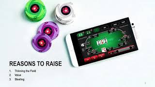 6 Max Basics | PokerStars School | Episode 1