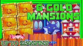 HIGH LIMIT Lock It Link Huff N' Puff MASSIVE HANDPAY JACKPOT ⋆ Slots ⋆ $50 Bonus Slot Machine EPIC C